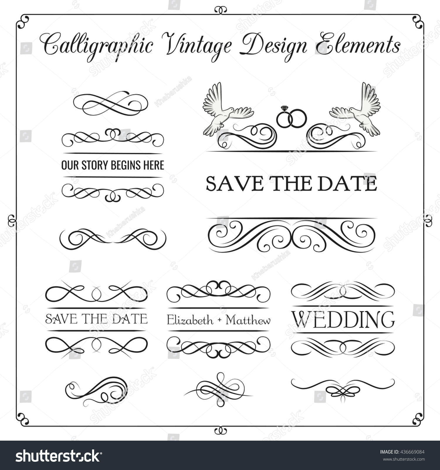 Wedding Invitation Save Date Marry Me Stock Vector 436669084 ...