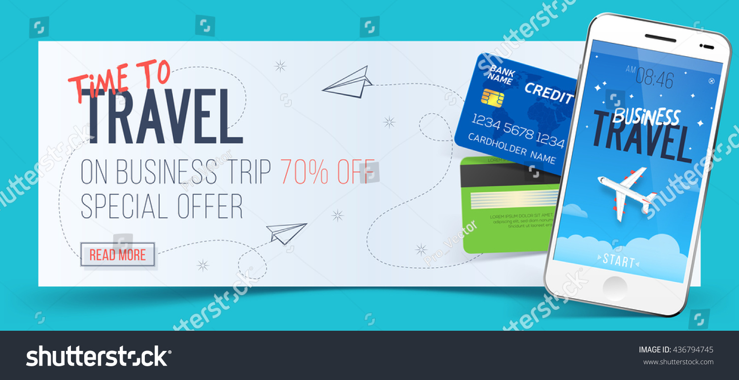 Special Offer On Business Travel Business Stock Vector 436794745 ...