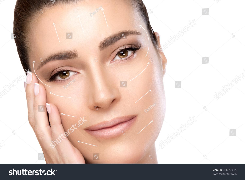 Anti Aging Treatment Plastic Surgery Concept Stock Photo Edit Now