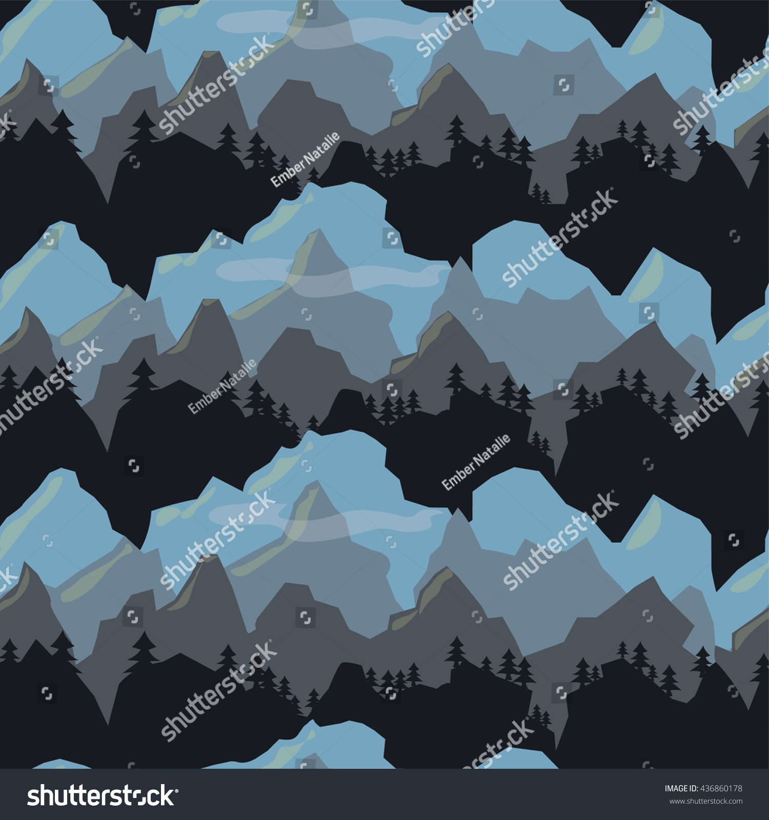 Simple Wallpaper Mountain Pattern - stock-photo-seamless-pattern-of-dark-mountains-in-perspective-great-for-textile-wallpaper-fabric-wrapping-436860178  Trends_25771.jpg