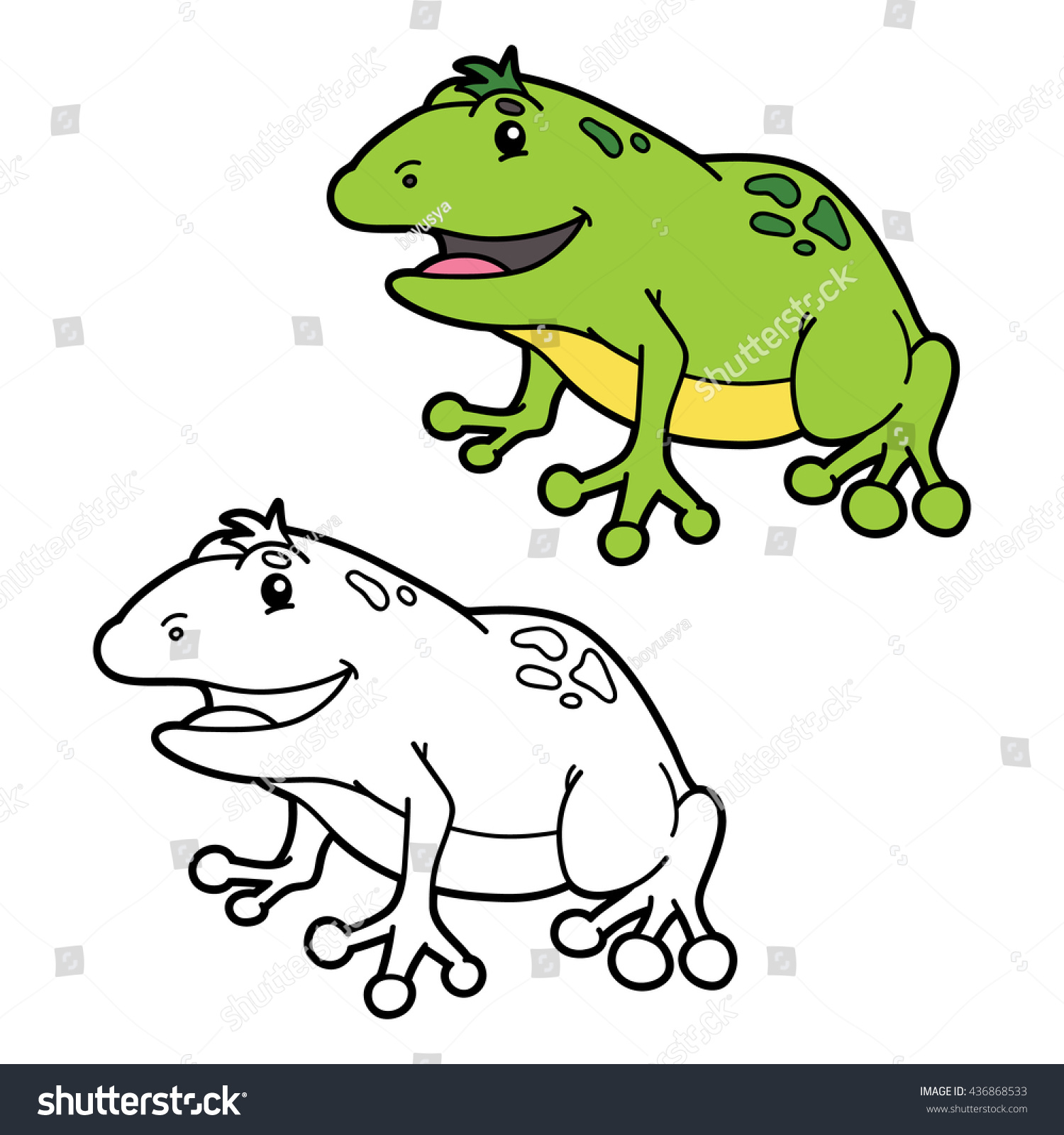 Beautiful Coloring Frog Ideas - Coloring Pages Of Animals ...