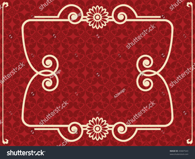 Baroque design elements vector illustration 43687543 for Baroque design elements
