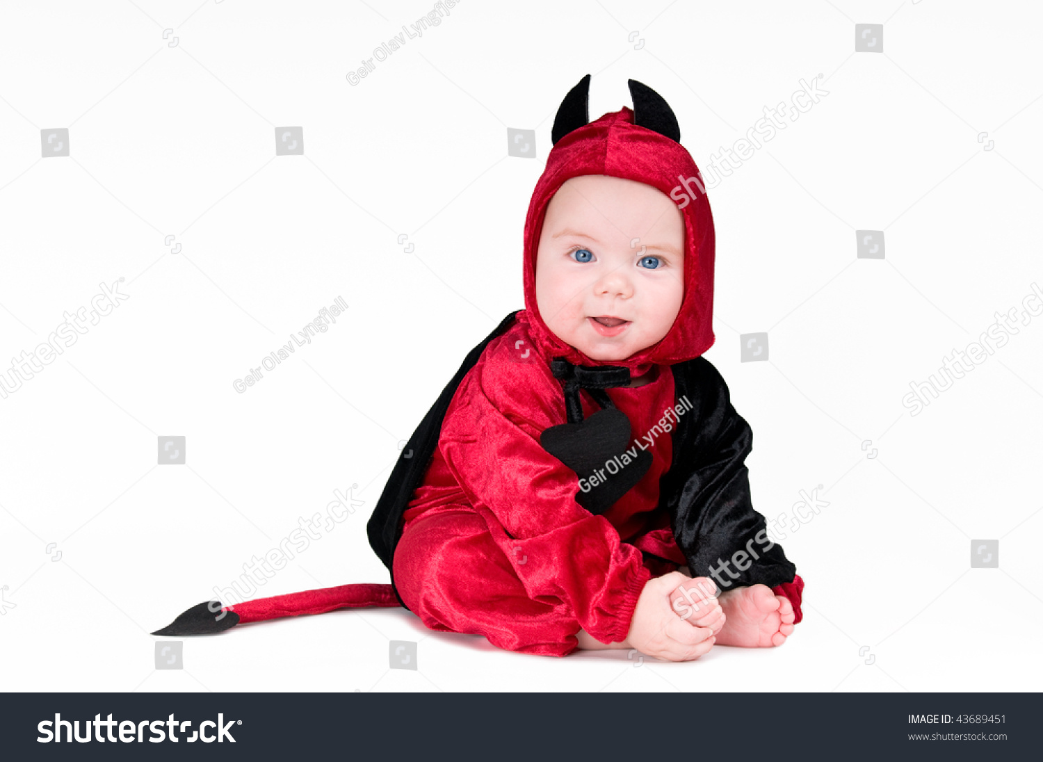 cute baby boy halloween outfit on stock photo (edit now) 43689451