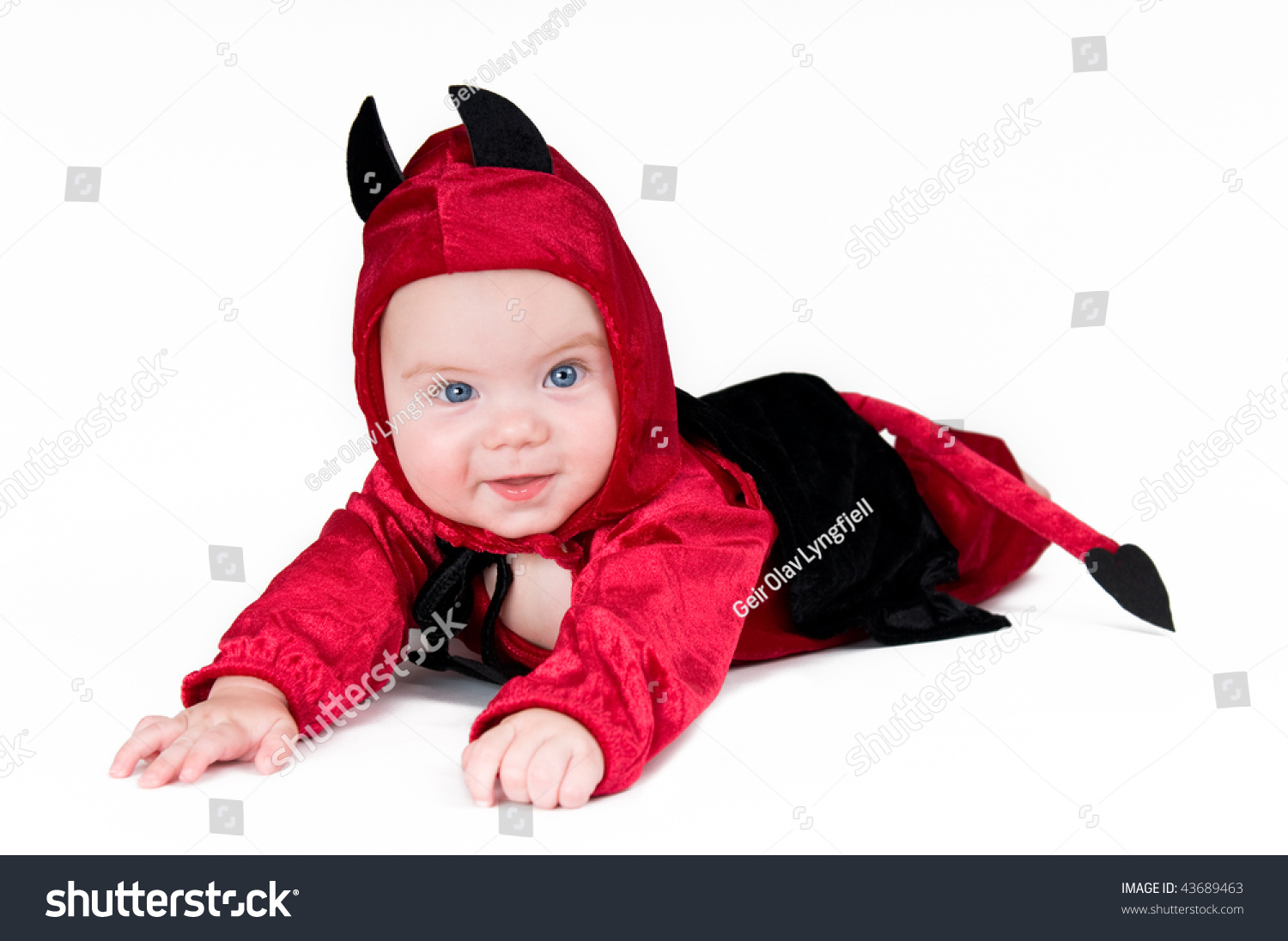 cute baby boy halloween outfit on stock photo (edit now) 43689463