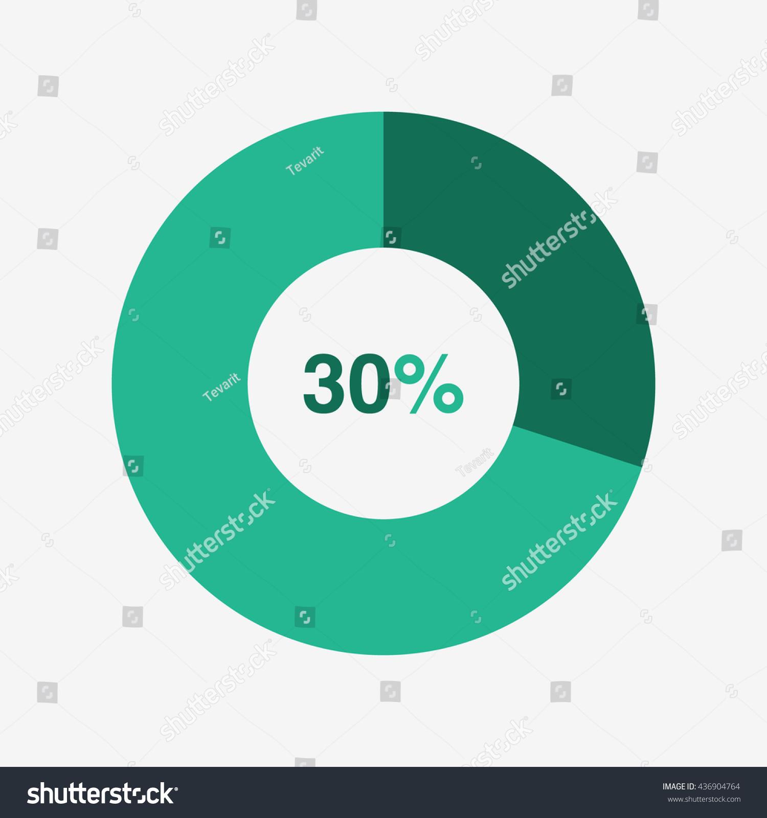 Icon pie green light green chart stock vector 436904764 shutterstock icon pie green and light green chart 30 percent pie chart vector nvjuhfo Choice Image