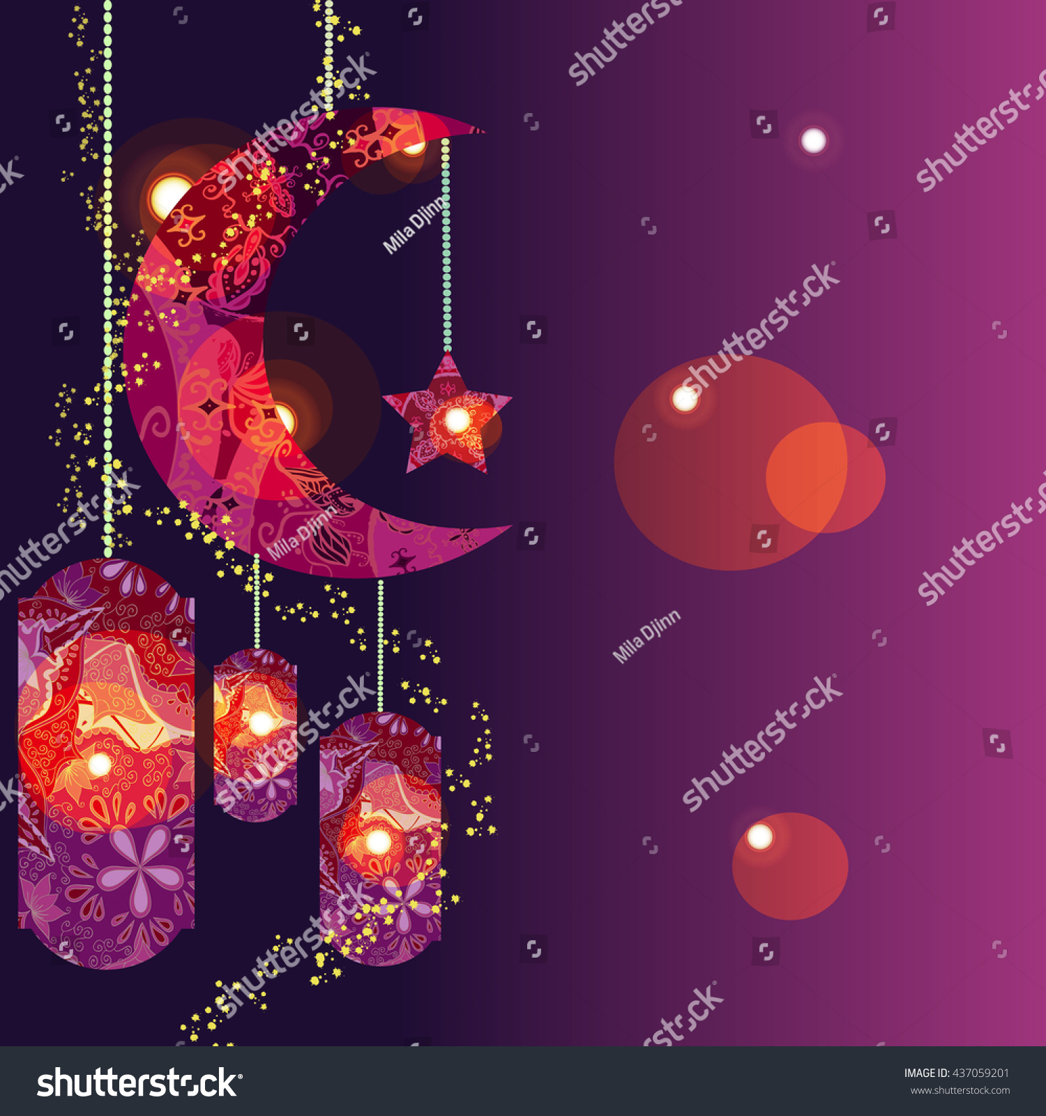 Download Modern Eid Al-Fitr Decorations - stock-vector-muslim-festival-eid-al-fitr-eid-mubarak-and-ramadan-concept-with-decorated-moon-and-star-vector-437059201  Photograph_481381 .jpg
