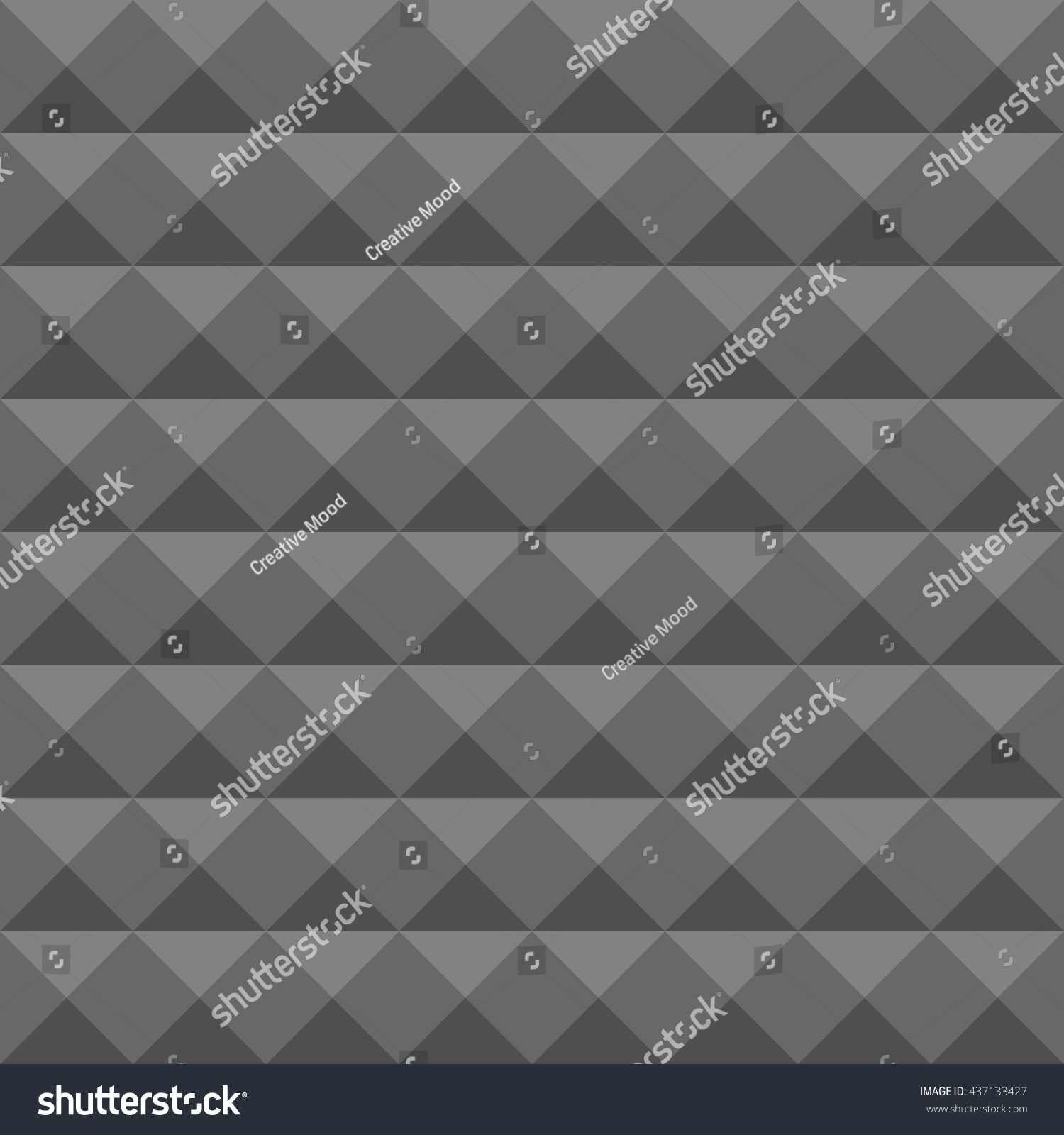 Acoustic Foam Wall Soundproofing Seamless Geometric Stock Vector ...