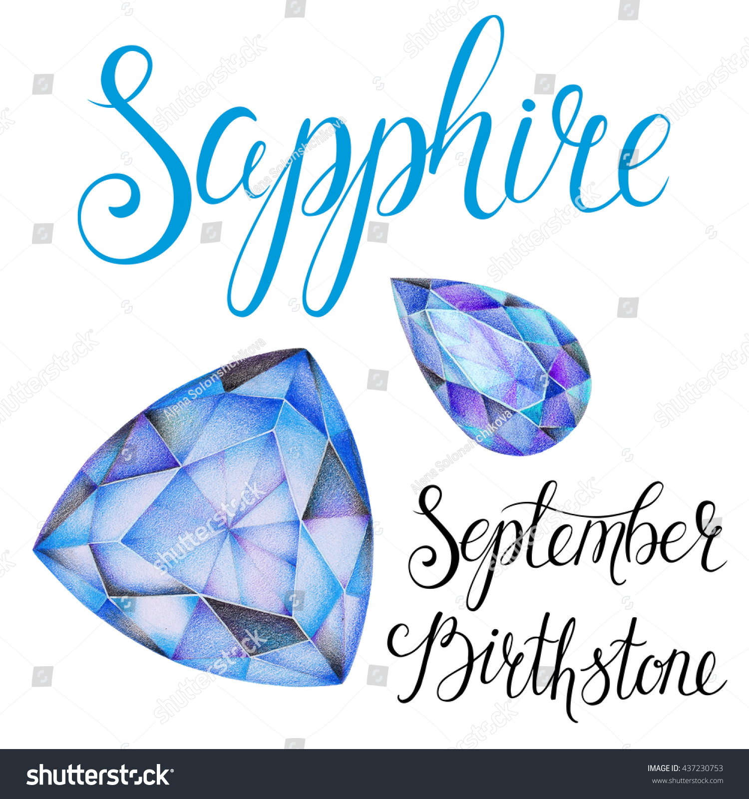birthstone s mysterious sapphire september tahara septembers earrings jewelry