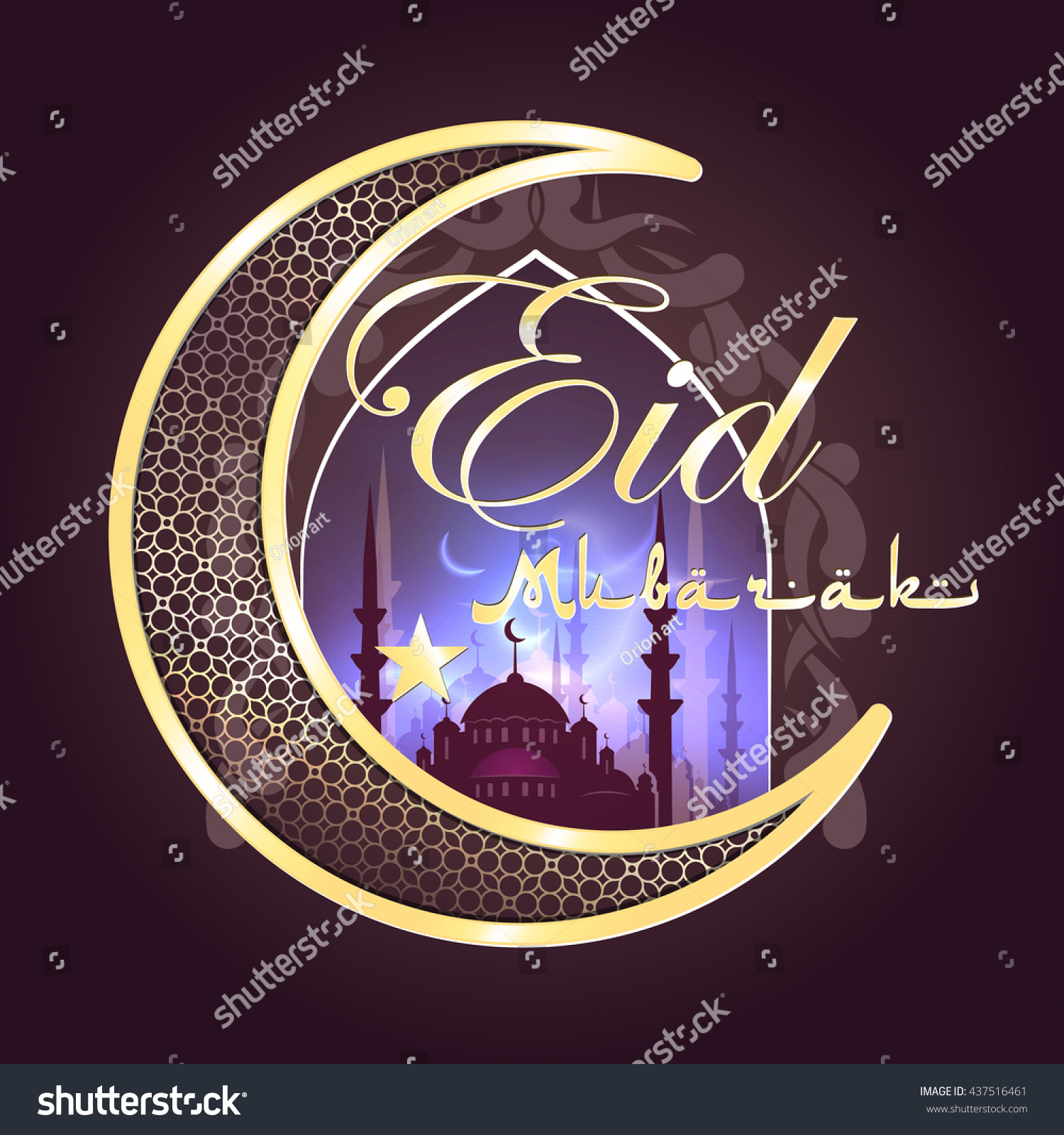Download Idd Eid Al-Fitr Feast - stock-photo-calligraphy-of-arabic-text-eid-al-fitr-feast-of-breaking-the-fast-holiday-greeting-card-in-437516461  Collection_621918 .jpg