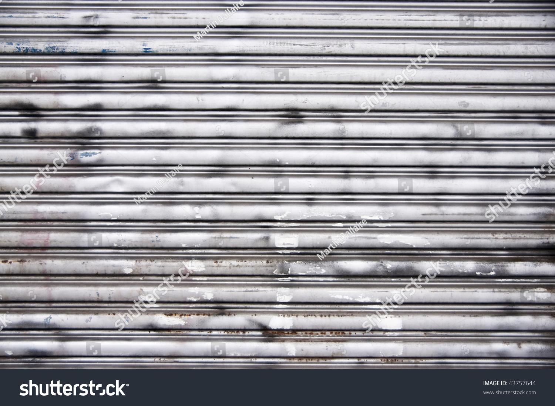 Steel Garage Door Texture nice steel garage door background texture stock photo 43757644