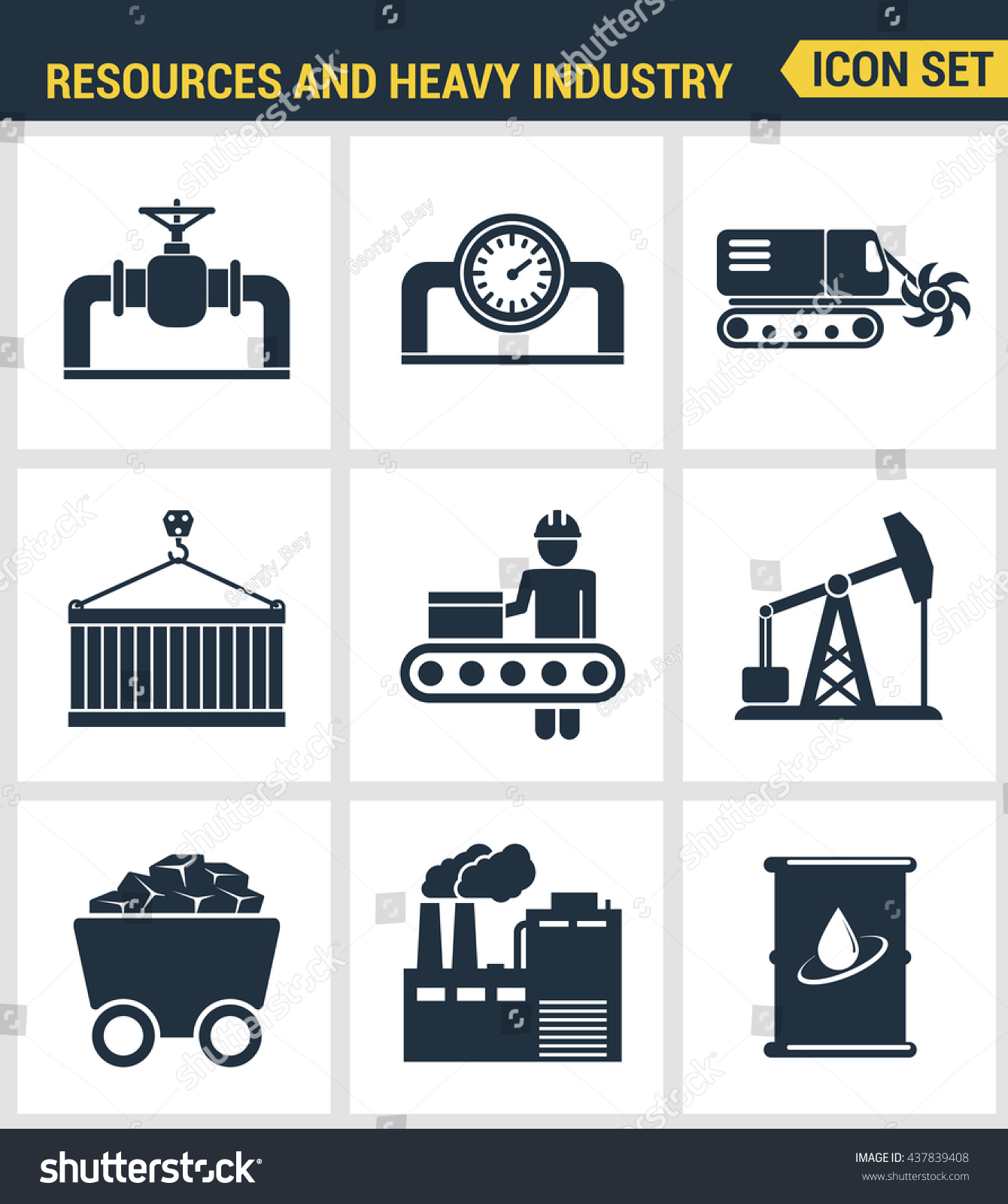 视频集优质的重工业,视频、资源图标。现代象电厂矿山51在线观看图片
