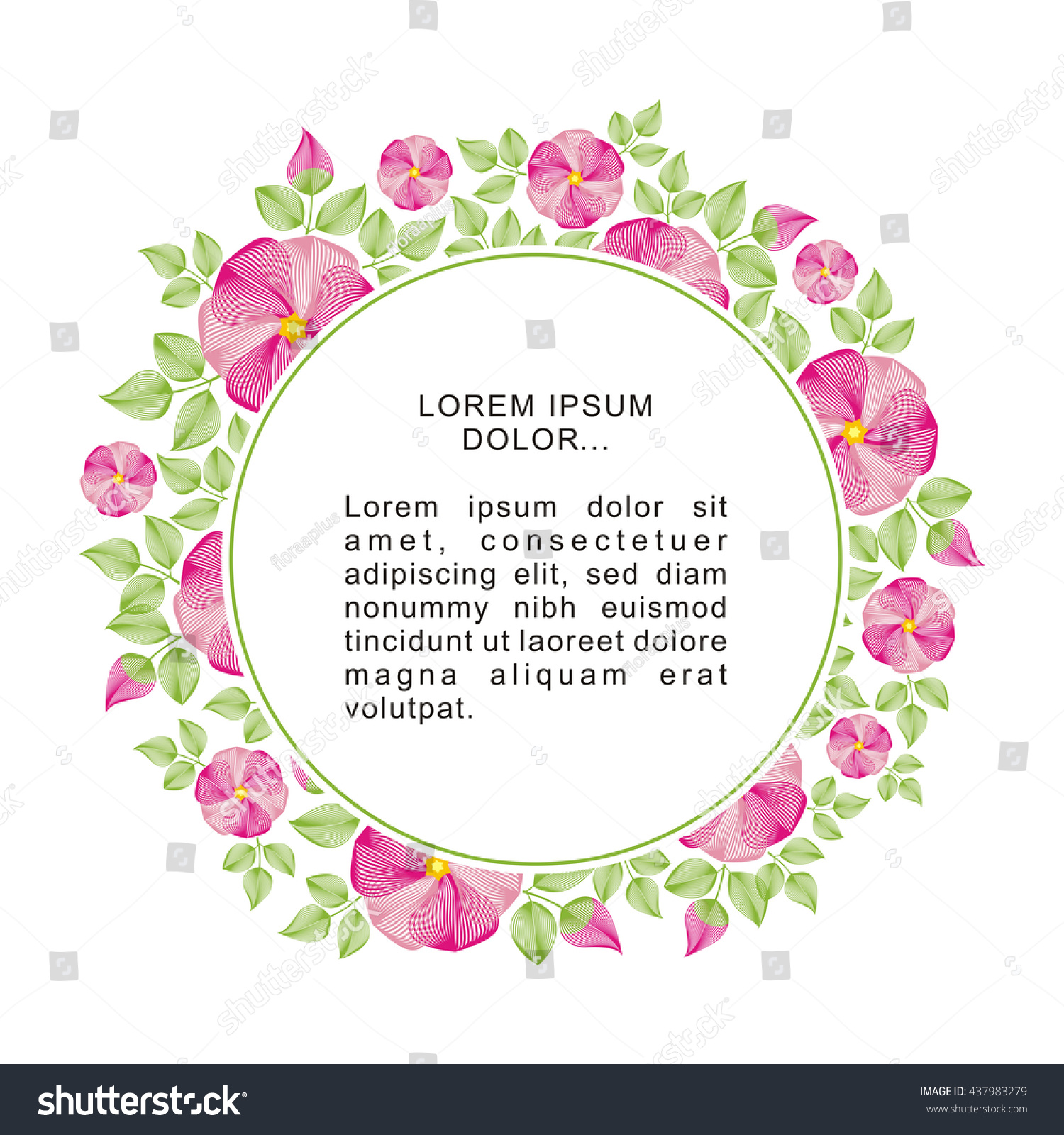 https://image.shutterstock.com/z/stock-photo-bright-round-frame-with-flowers-of-a-dogrose-design-with-the-place-for-the-text-for-natural-437983279.jpg