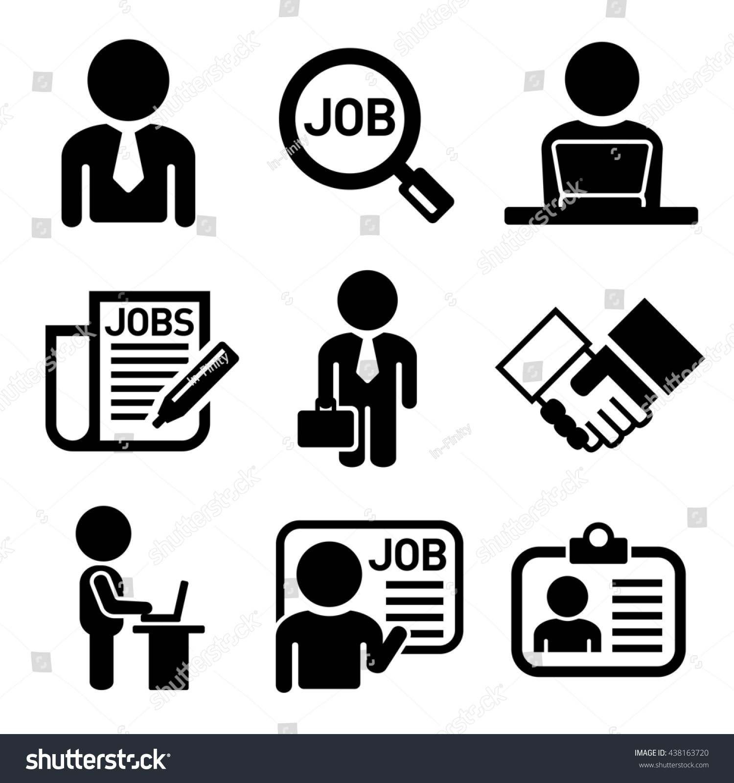 business management human job resources icons stock illustration  - business management human job resources icons stock illustration  shutterstock