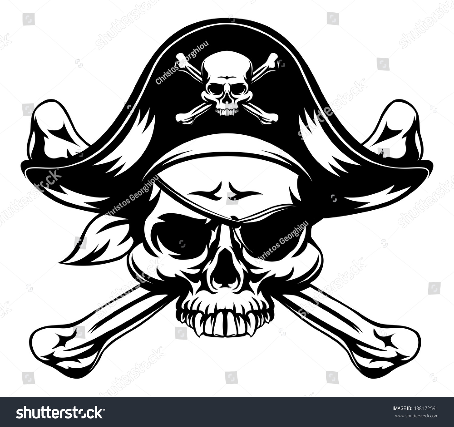 Pirate Hat And Eye Patch Printables - ocpscouk