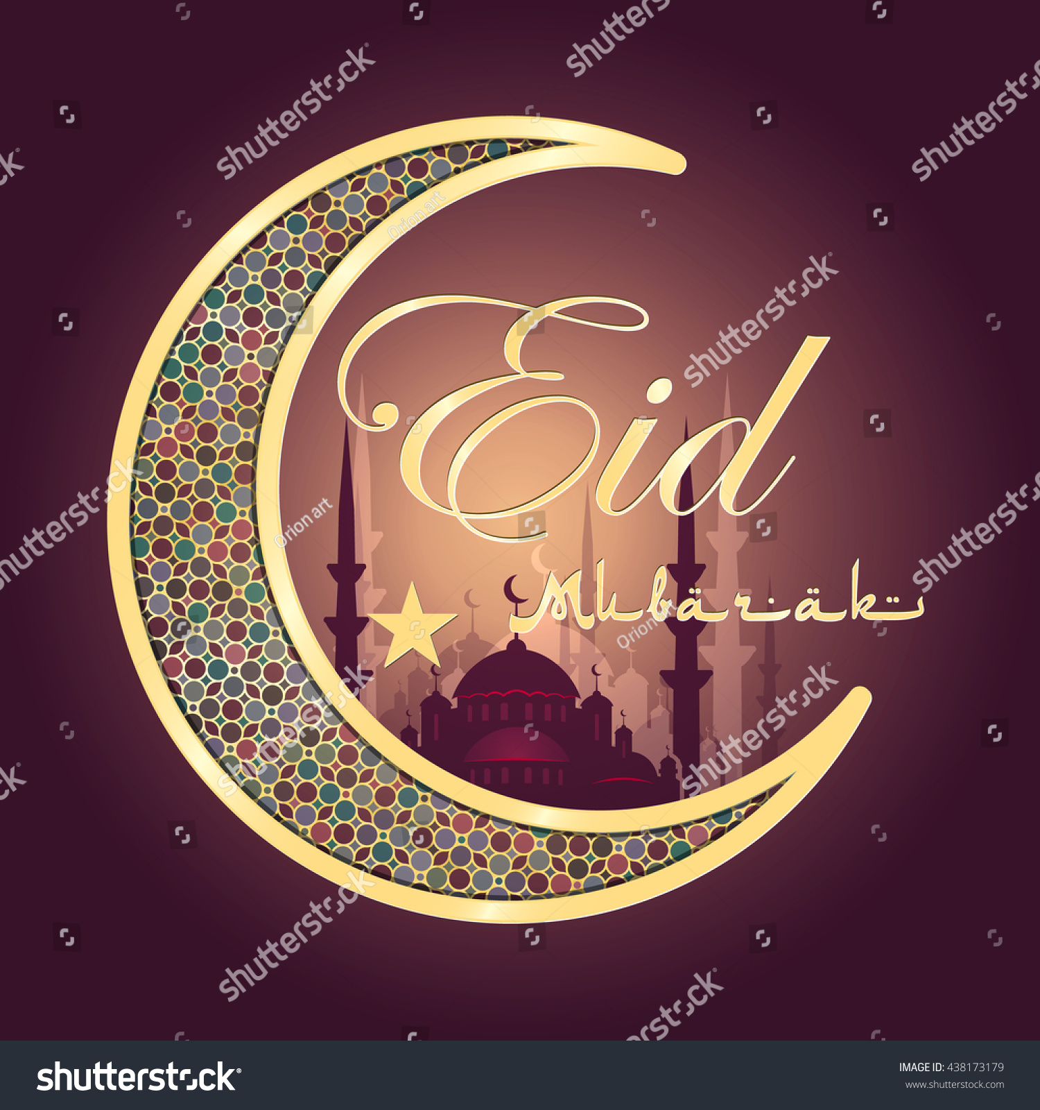Calligraphy arabic text eid al fitr stock illustration 438173179 calligraphy of arabic text eid al fitr feast of breaking the fast kristyandbryce Choice Image