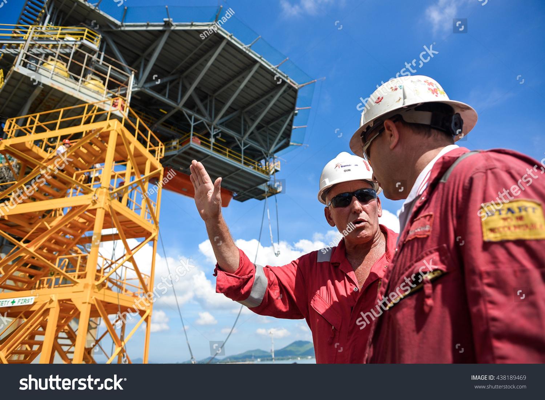 Sattahip Shipyard Thailand Nov 25 Manager Stock Photo (Edit