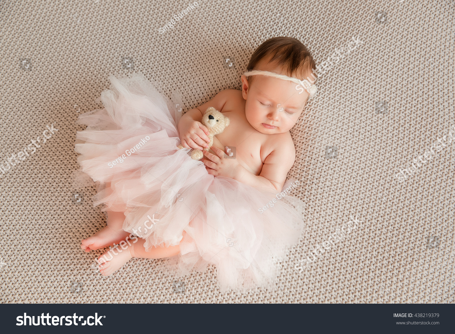 adorable beautiful newborn baby girl maternity stock photo (safe to
