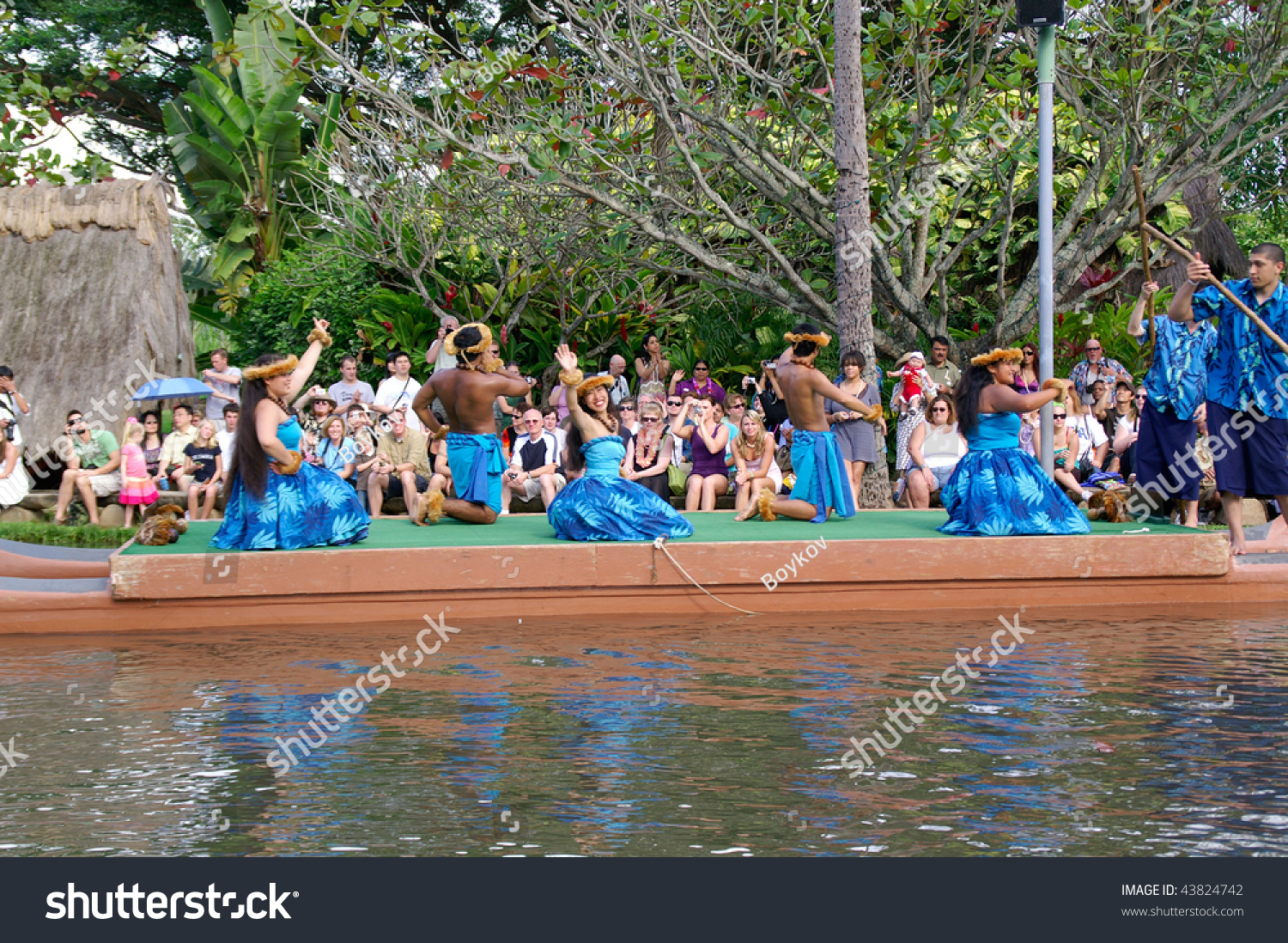 oahu hawaii december 24 polynesian cultural stock photo edit now