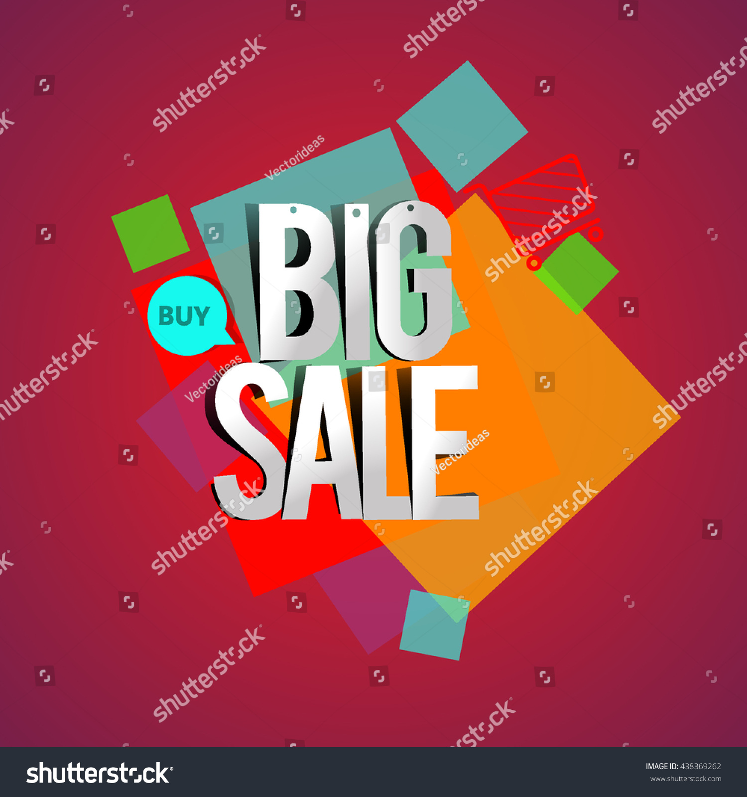 big sale discount vector design for banner flyer and brochure for event promotion business