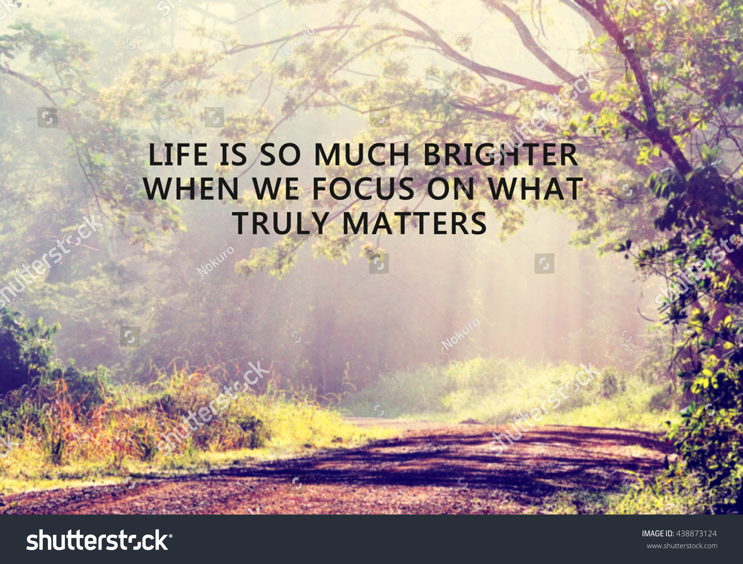 Life Is A Blur Quotes: Royalty-free Inspirational Quote With Phrase: Life
