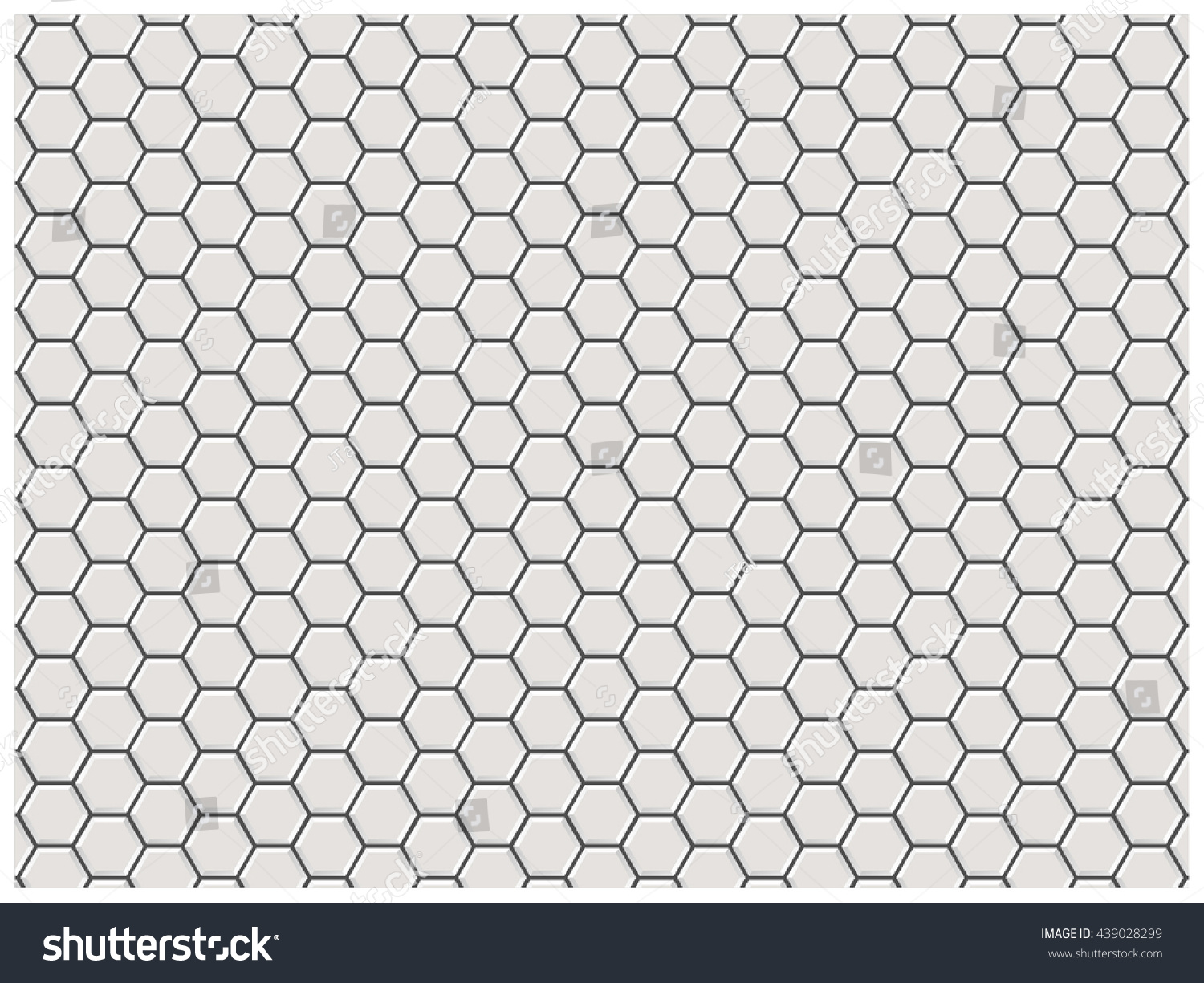 Subway Pattern white polygon brick wall polygon pattern stock vector 439028299