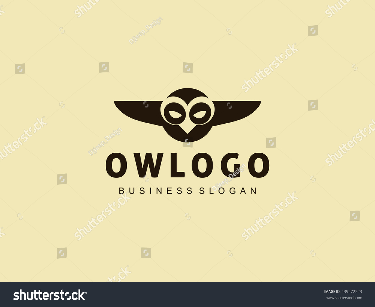 Owl logo templateflying owl birdgreat logo stock vector 439272223 great logo suitable for all types of creative biocorpaavc Gallery