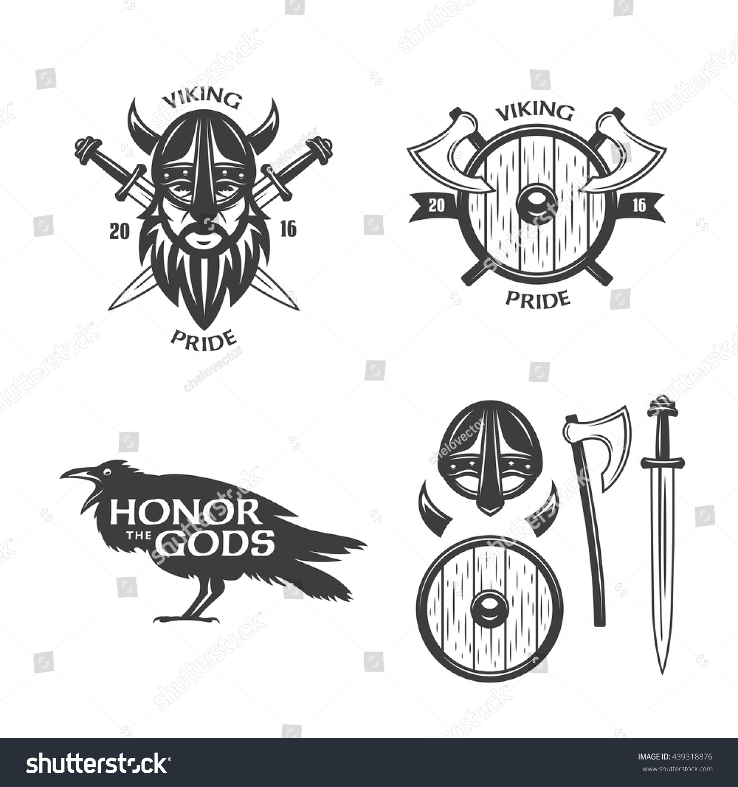 Shirt design elements - Vikings Related T Shirt Graphics And Design Elements Viking Pride Slogan Honor The