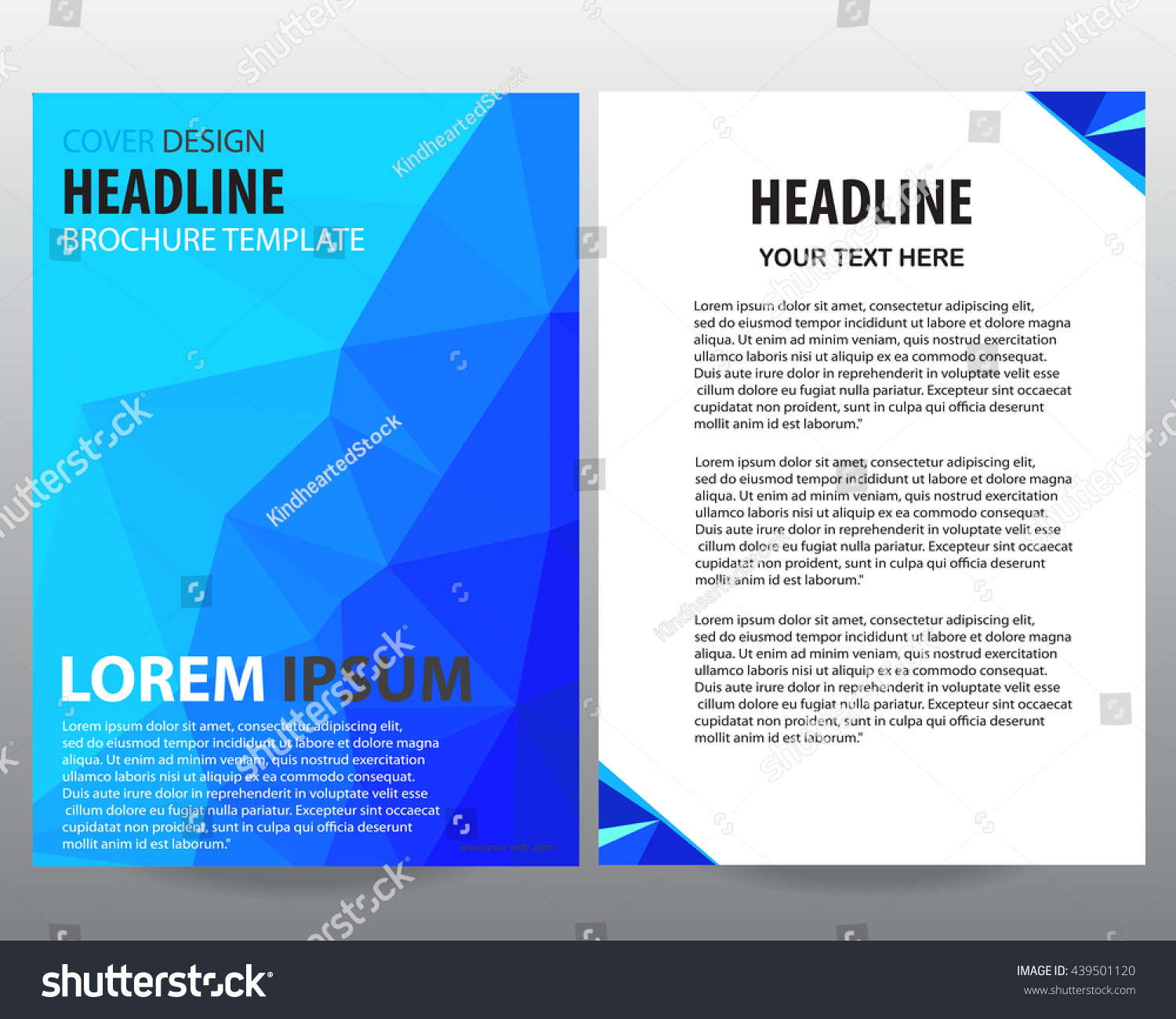 blue annual report abstract business brochure design vector presentation cover blue annual report abstract business brochure design vector template in a4 size document or