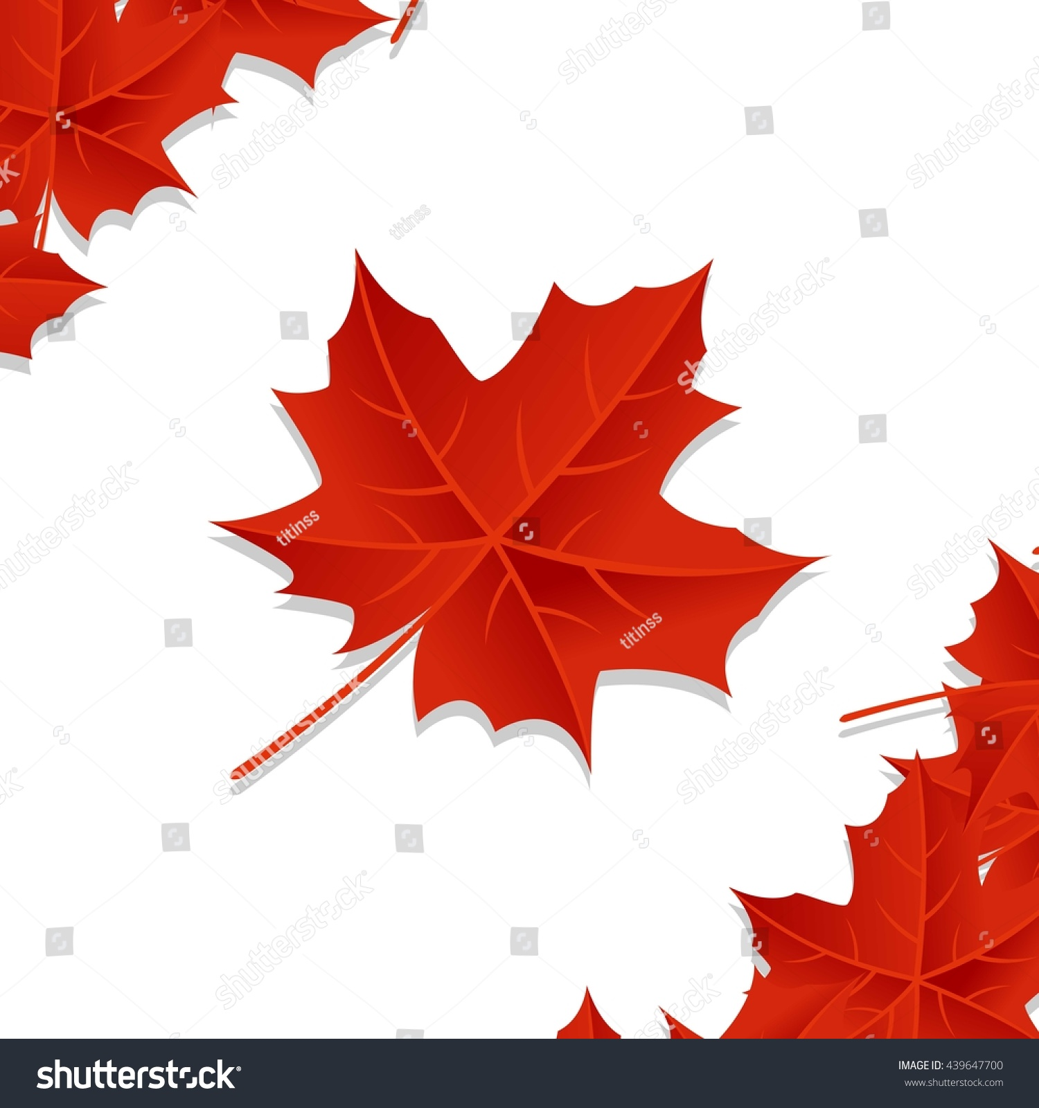 happy canada day poster template stock vector 439647700 shutterstock. Black Bedroom Furniture Sets. Home Design Ideas