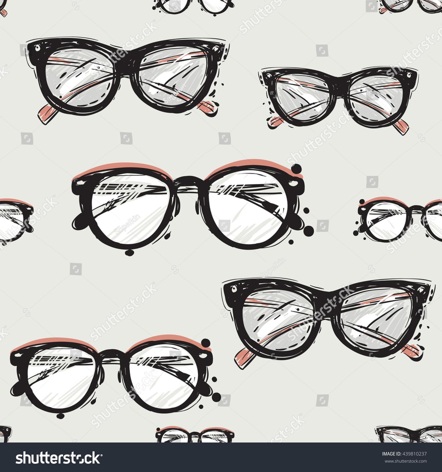 Vector Hand Drawn Graphic Fashion Illustration Stock Vector Royalty