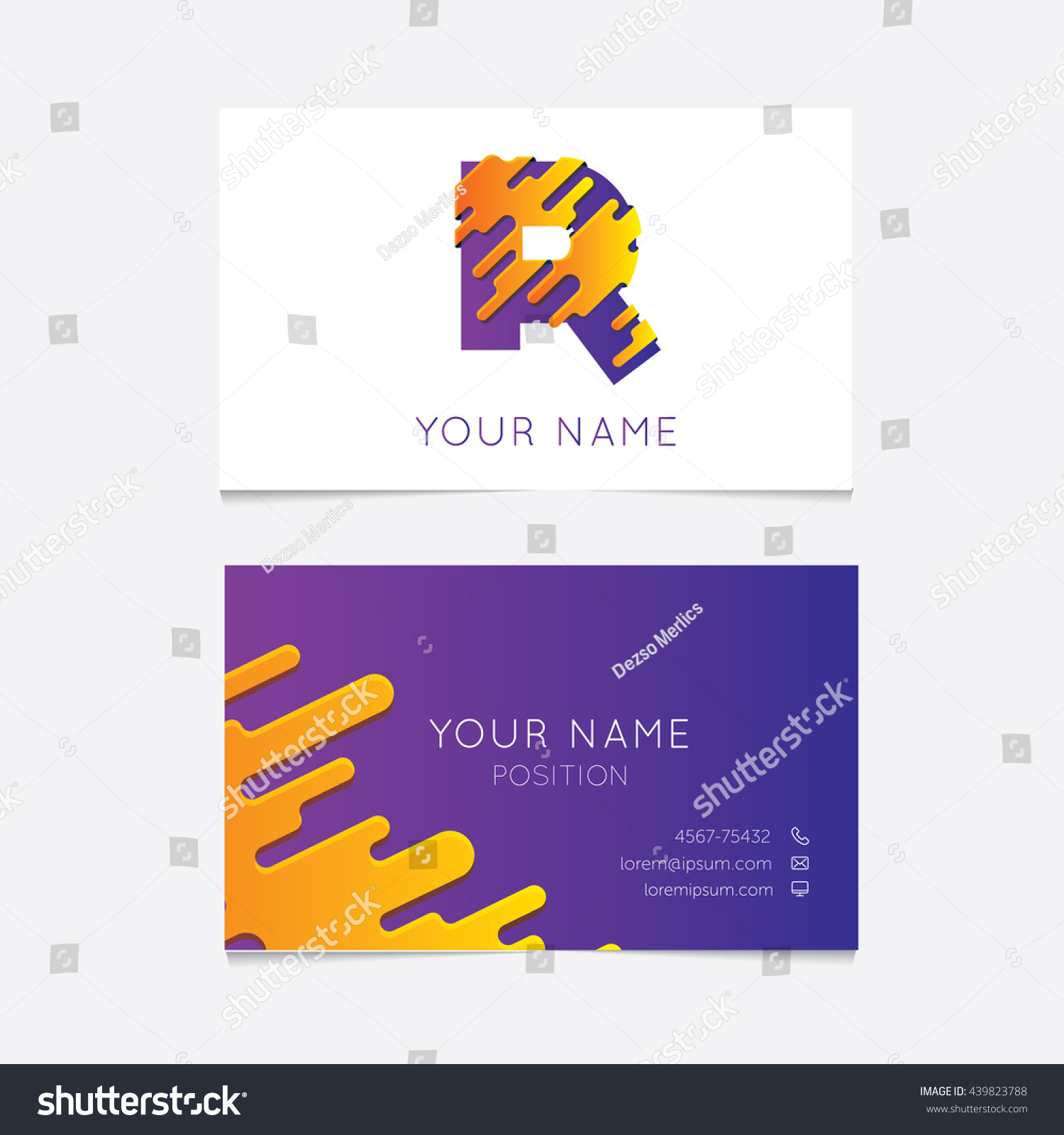 100 [ Editable Business Card Template ]