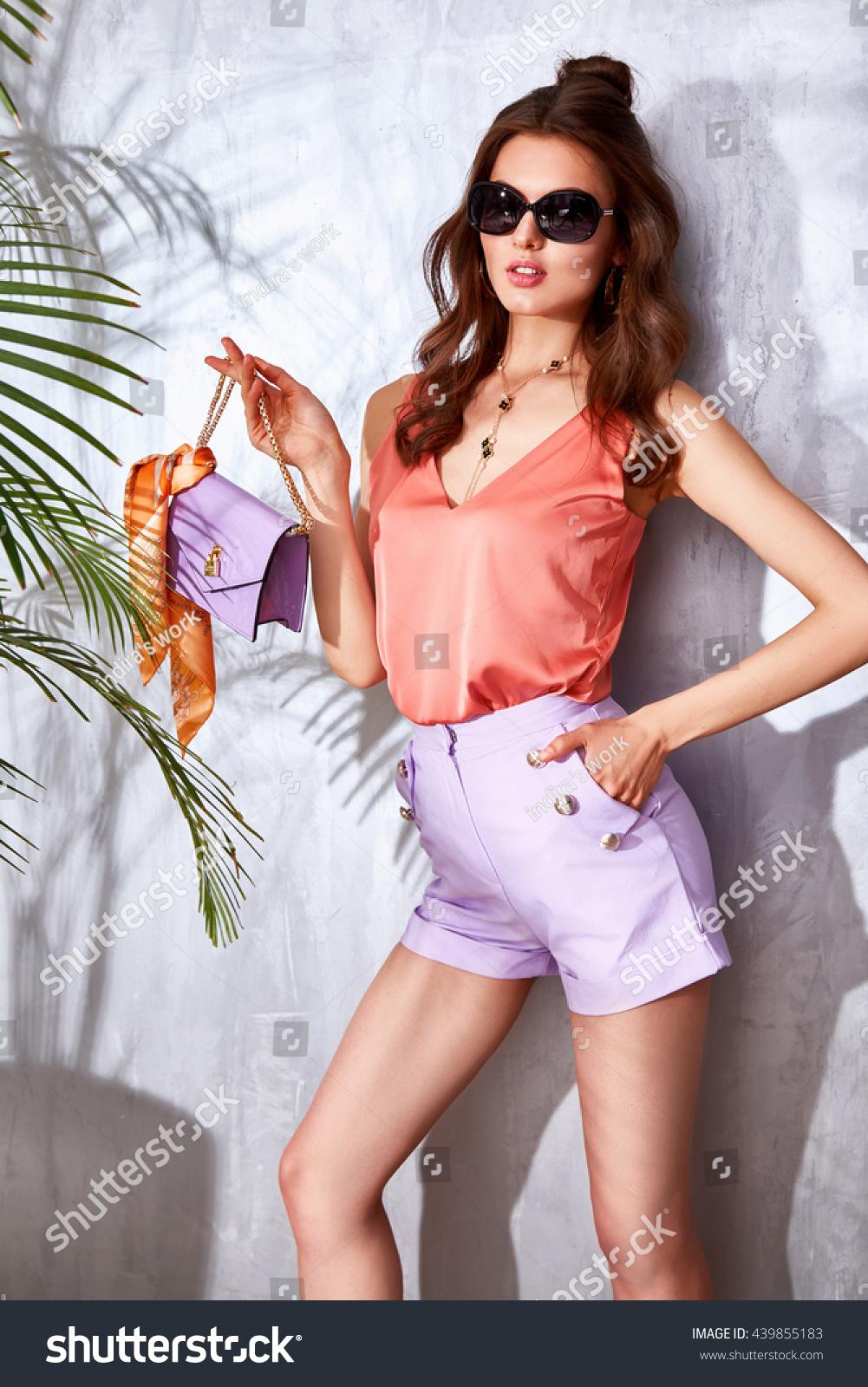Fashion style Lady stylish photo for woman