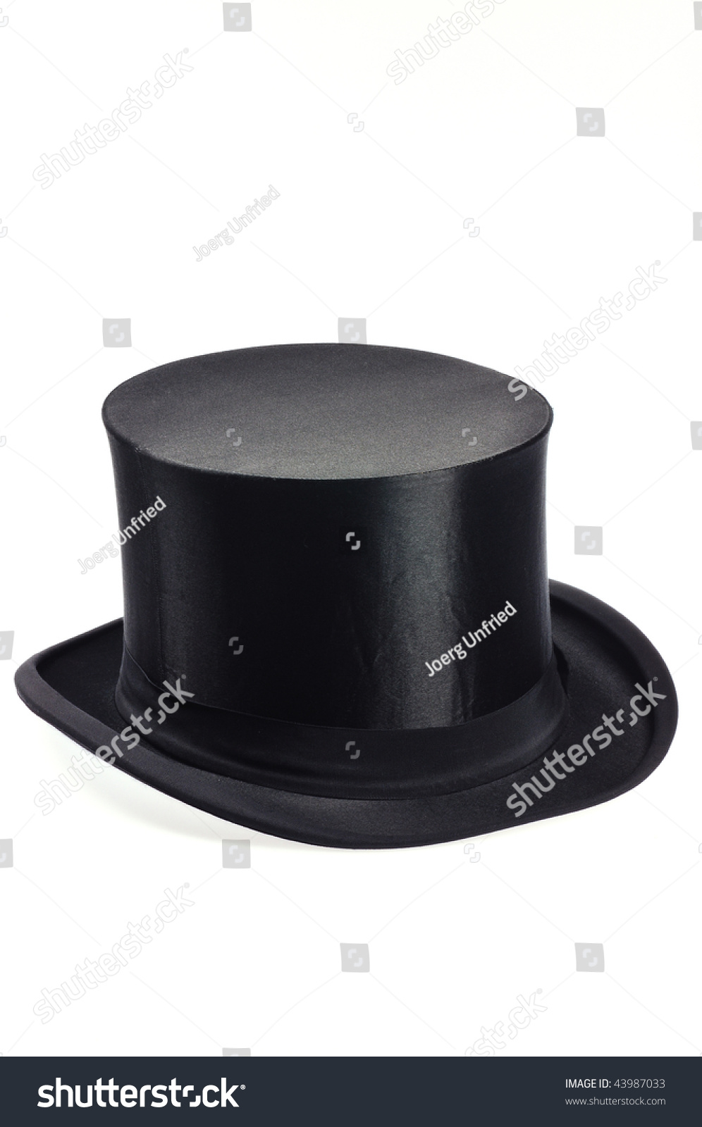 Old black collapsible top hat stock photo royalty free jpg 996x1600 Old  black hat 2640f8c1651d