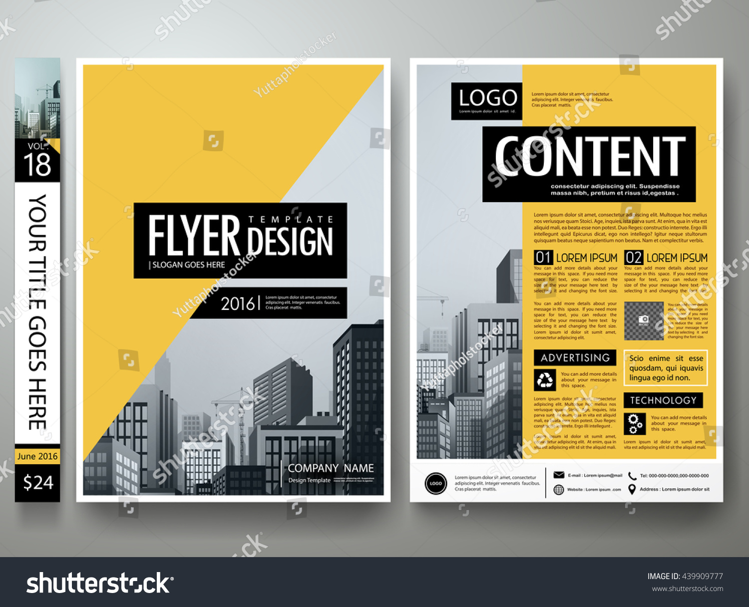 Advertising Flyer Templates