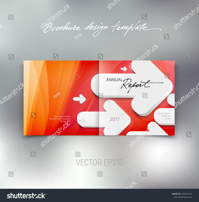 booklet design template