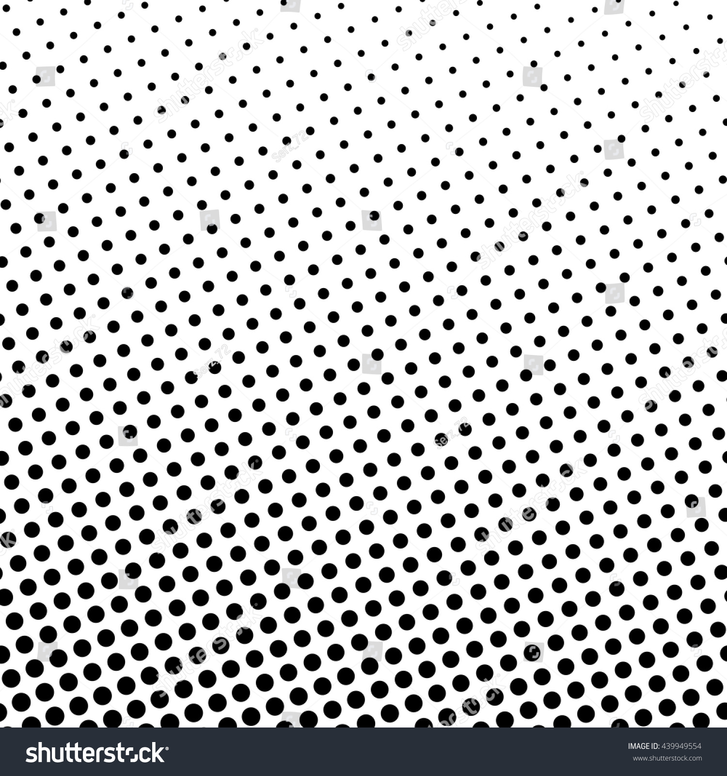 Background image bottom 0 - Pop Art Background Black Dots On A White Background Gradient From Bottom Left To