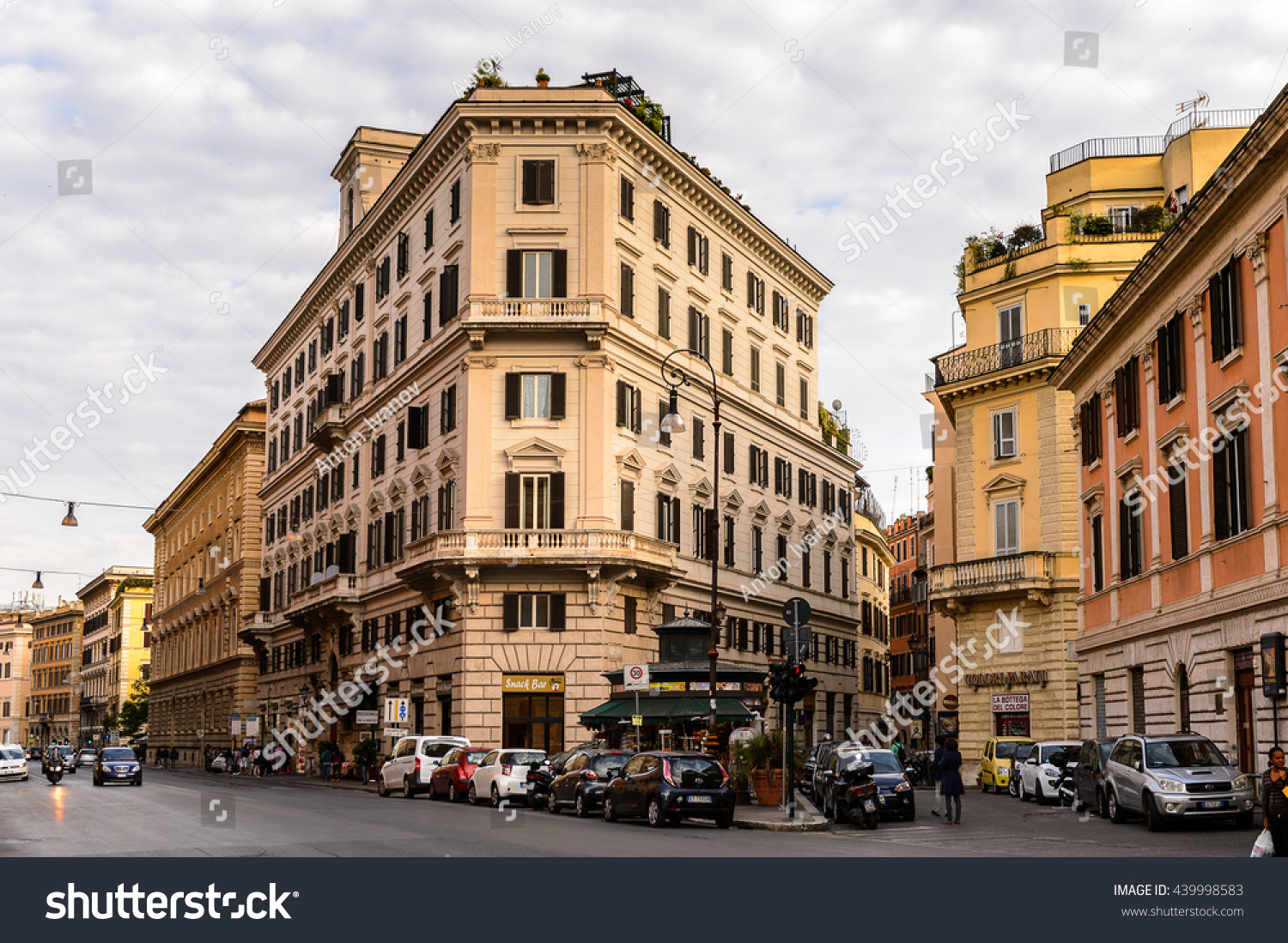 Rome Italy May 7 2016 Architecture Stock Photo 439998583