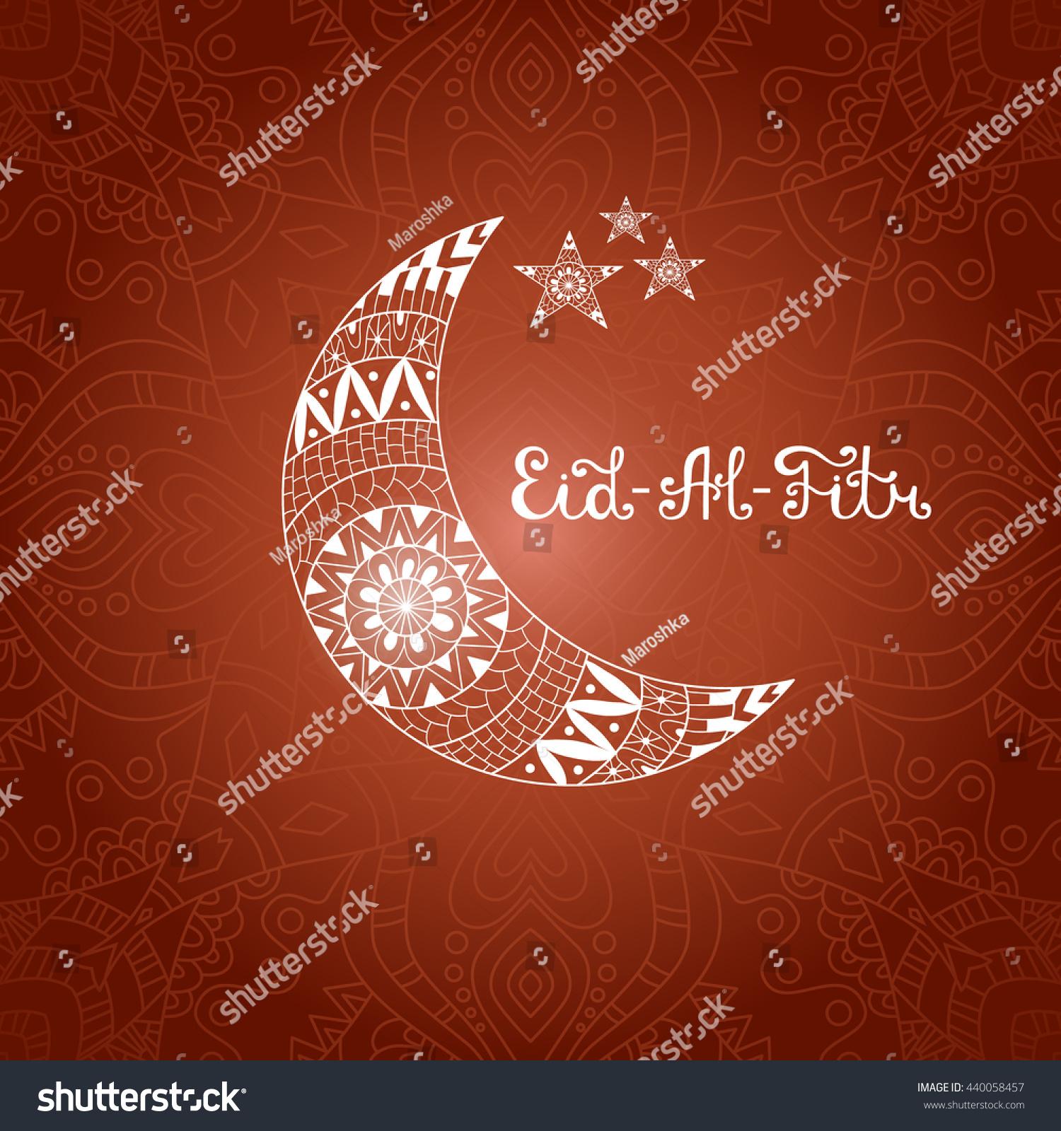 Cool Idd Eid Al-Fitr Greeting - stock-vector-vector-illustration-eid-al-fitr-greeting-card-with-ornamental-crescent-moon-and-stars-on-arabic-440058457  Graphic_861528 .jpg