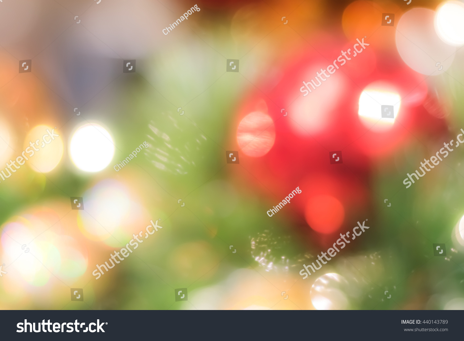 Blur Background Merry Christmas Party Celebration Stock ...