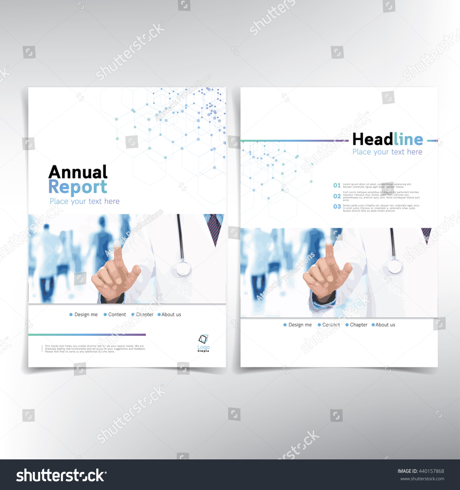 medical cover page vector template can stock vector 440157868 medical cover page vector template can be used for annual report flyer