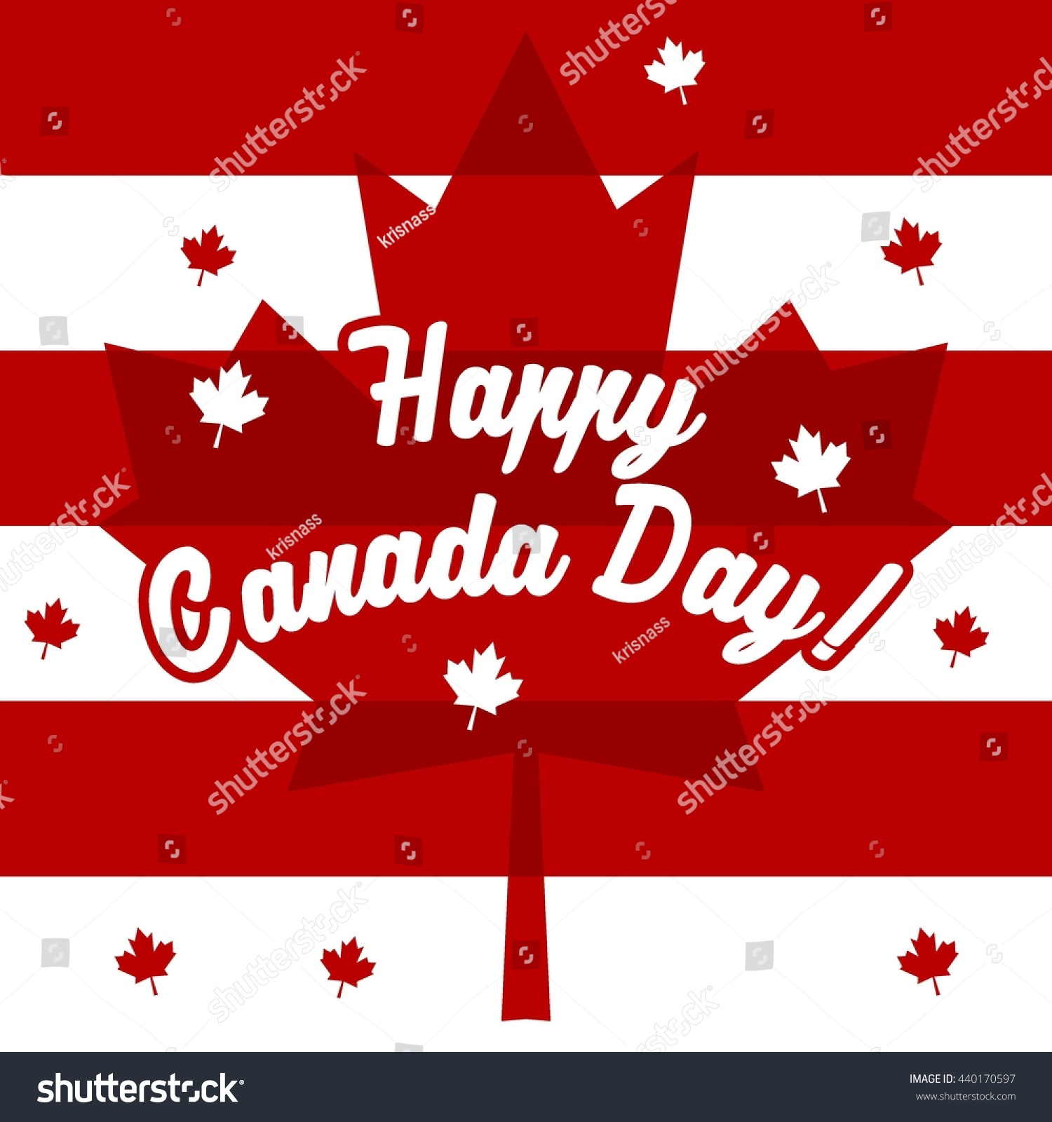 happy canada day poster template stock vector 440170597 shutterstock. Black Bedroom Furniture Sets. Home Design Ideas