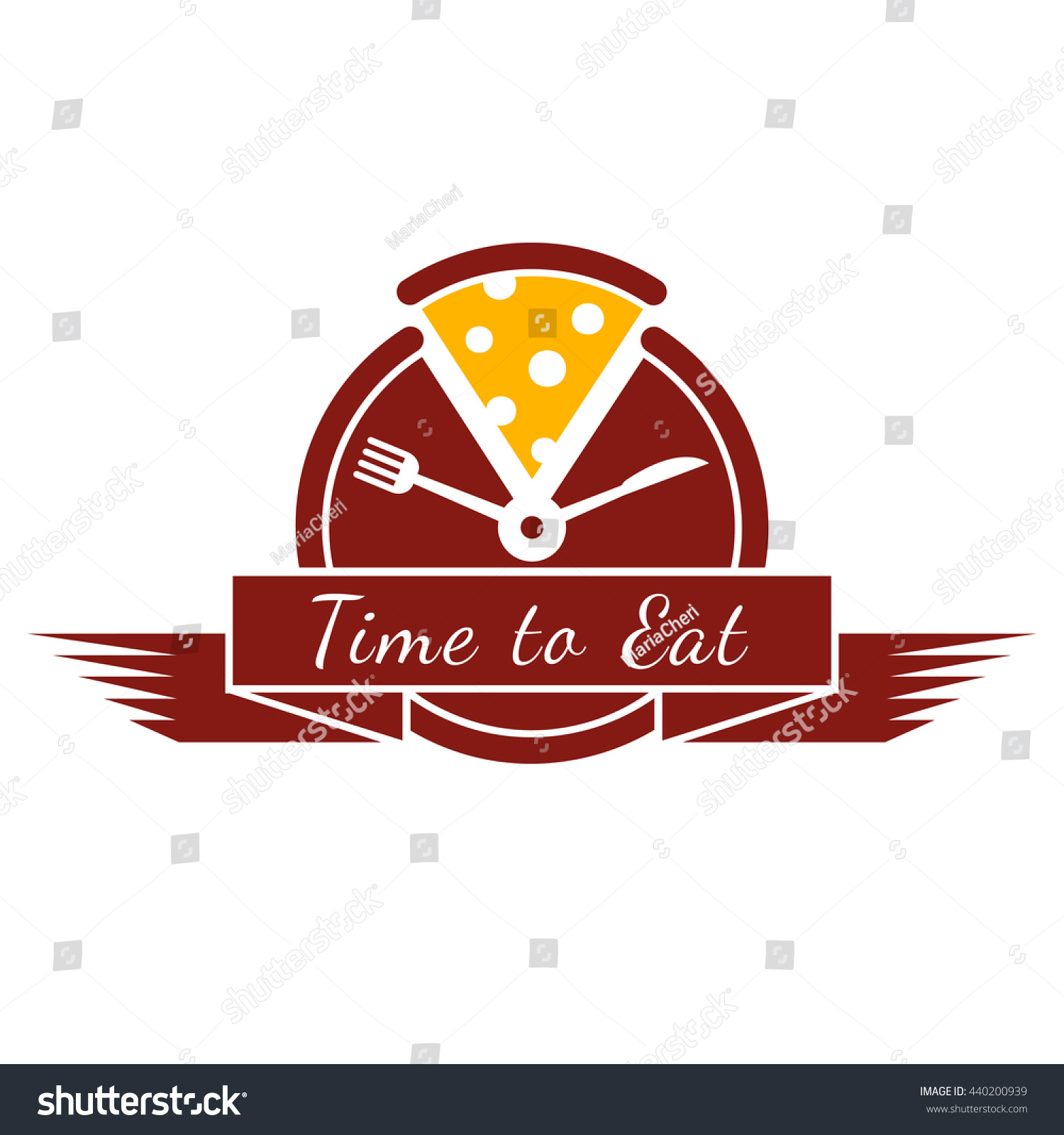 The Sign Of Good Taste Yellow Food Logo