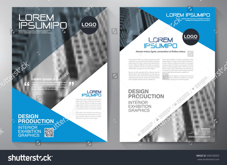 a4 brochure template - business brochure flyer design a4 template stock vector