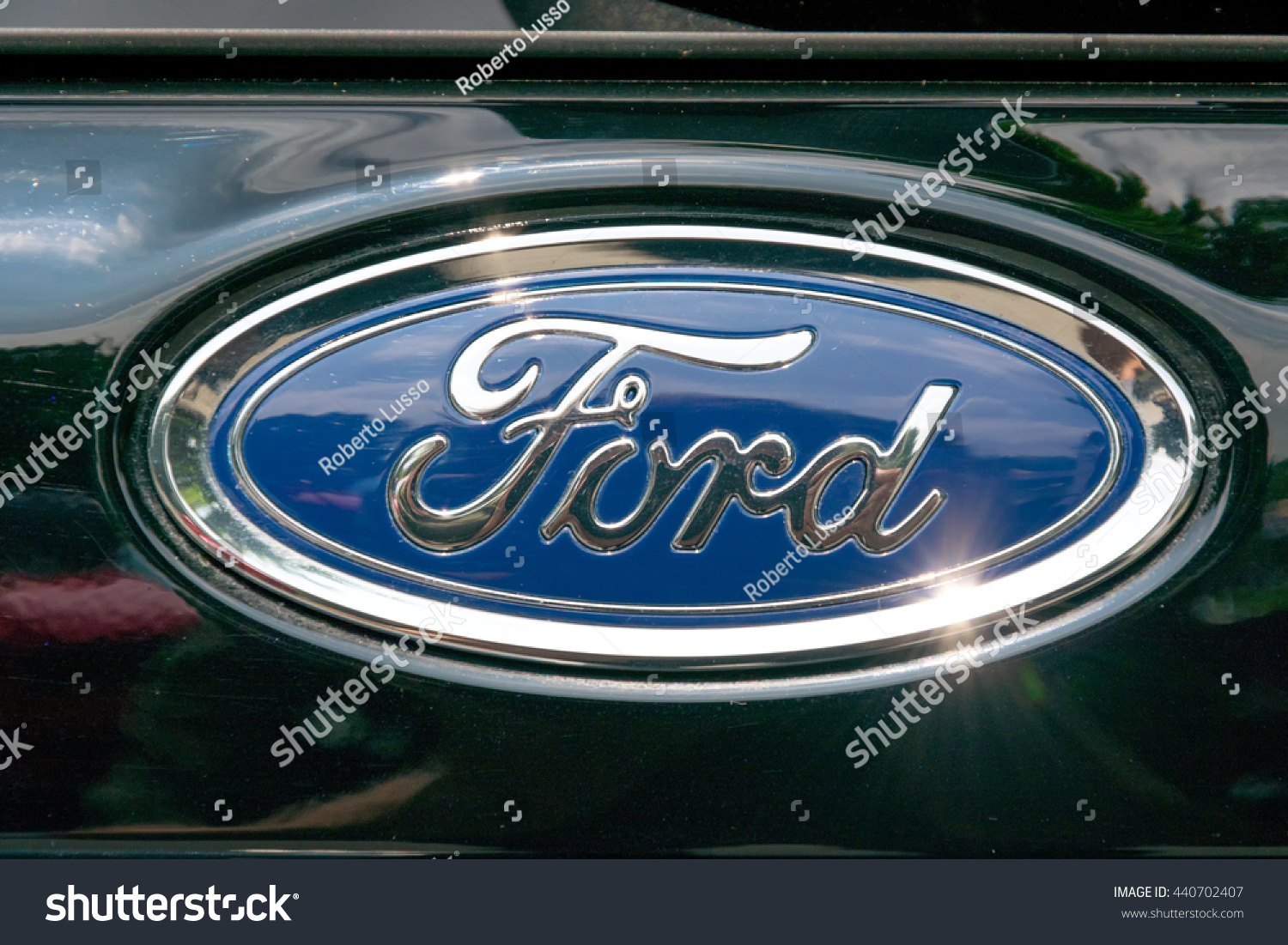 Friday 24 March 2017 In Chiang Mai Thailand Logo Of Ford Car On