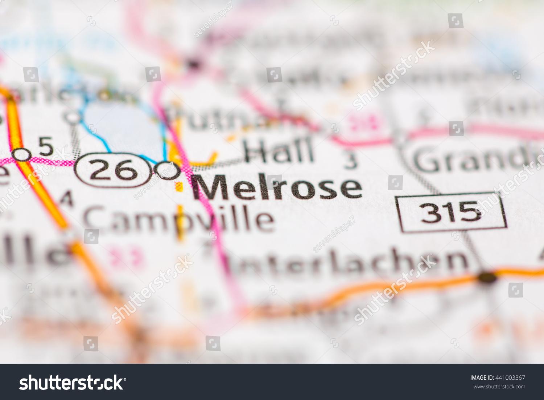 Melrose Florida Map.Melrose Florida Usa Ez Canvas
