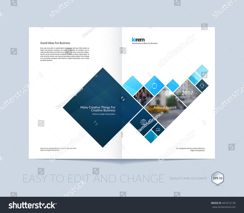 Vector Design Cover Annual Report Brochure Vector 441012130 – Annual Report Brochure