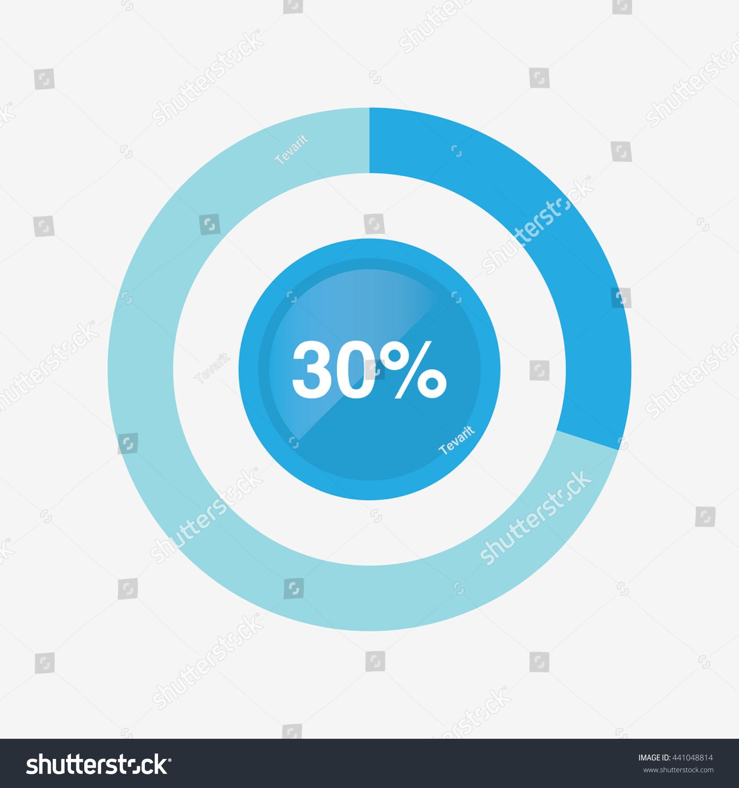 Icon pie blue chart 30 percent stock vector 441048814 shutterstock icon pie blue chart 30 percent pie chart vector nvjuhfo Choice Image