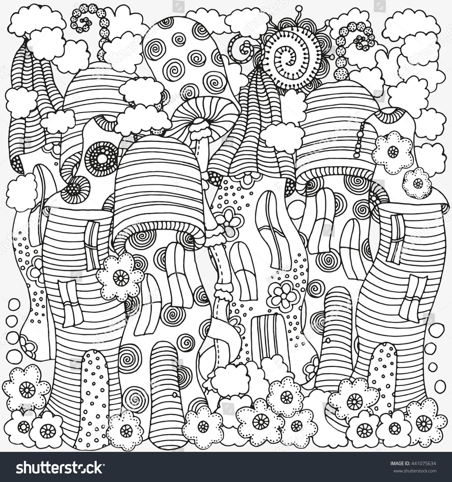 100 mushrooms coloring pages 1454 best coloring pages images on