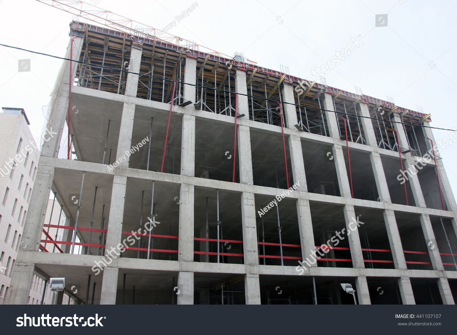 Masonry Building Framed : Reinforced concrete frame construction design