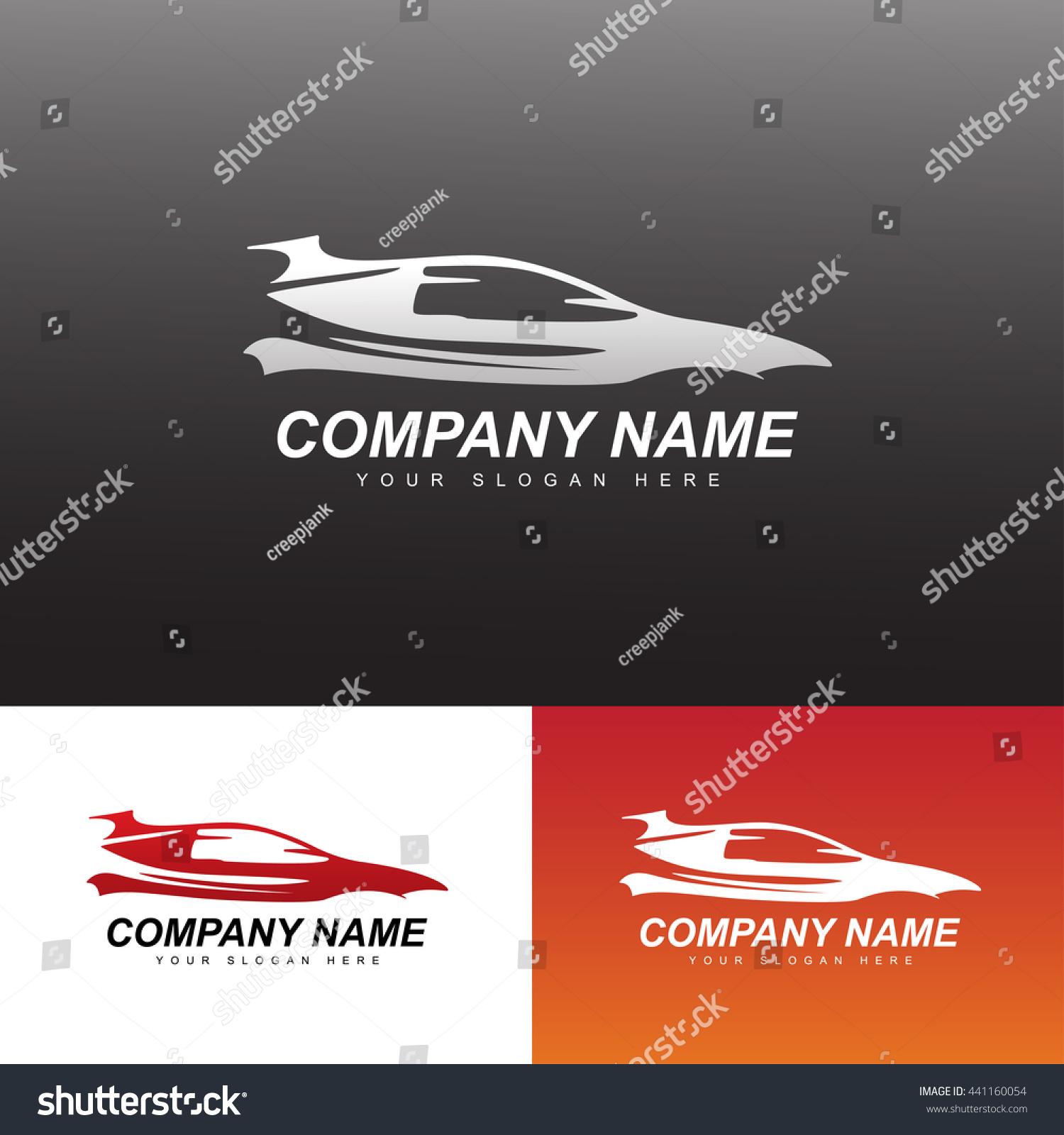 royalty free car logo vector illustration 441160054 stock photo